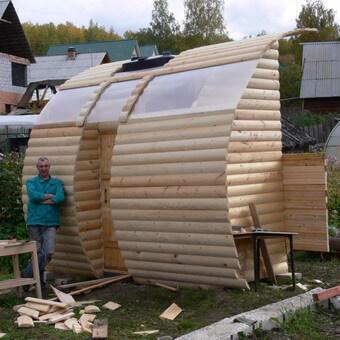 Летний душ с подогревом на даче своими руками фото