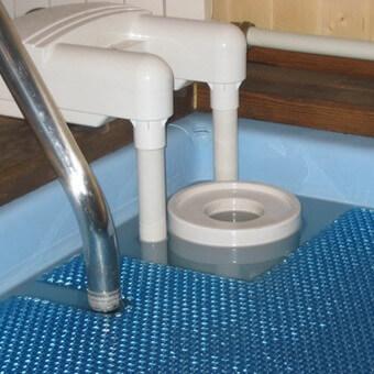 Укрытия для бассейна на даче: фото, чем накрыть бассейн для защиты воды