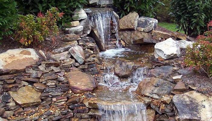 Устройство прудов с водопадом и каскадом своими руками