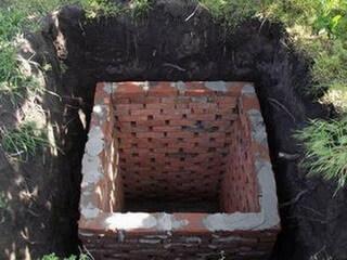 Туалет с выгребной ямой своими руками фото 304