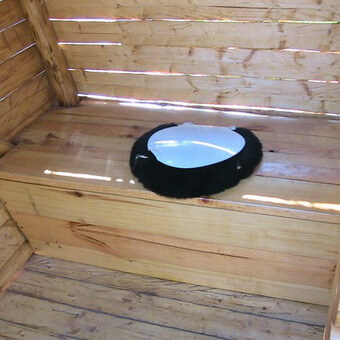 Как сделать яму для туалета на даче