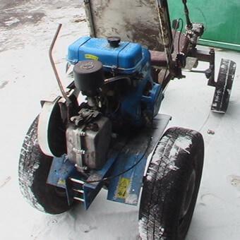 Трактори своїми руками відео