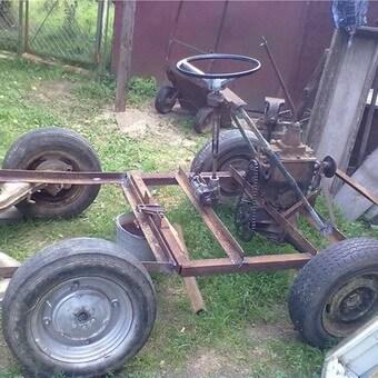 Как сделать трактор