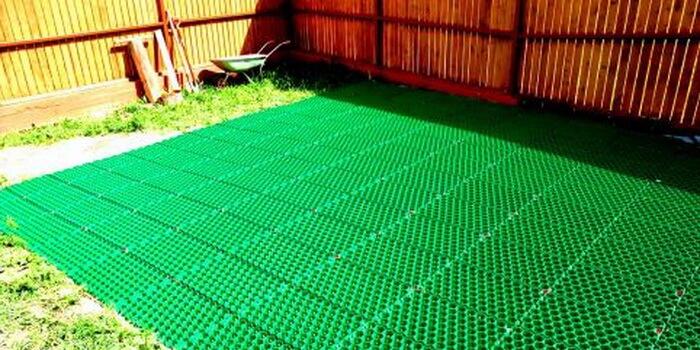 Из чего сделать газонную решетку своими руками 57