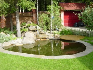 Мини водоемы в саду