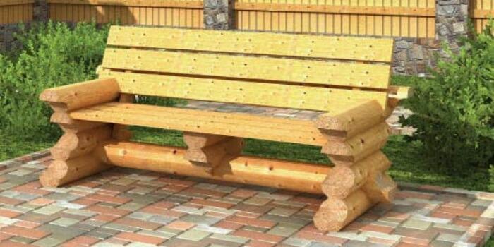 Садовые лавочки и скамейки своими руками