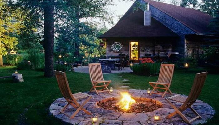 Уголок сада с барбекю дровяные камины в нижнем новгороде цены
