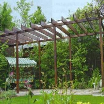 фото конструкции для винограда
