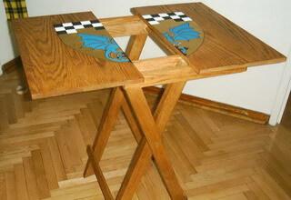 Рисунки на столешницах деревянных