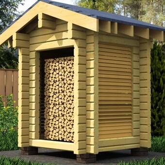 Сделать дровяник своими руками фото фото 335