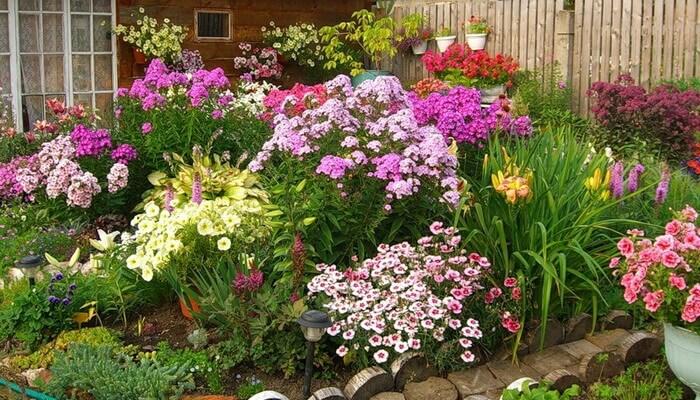 Для цветника огорода