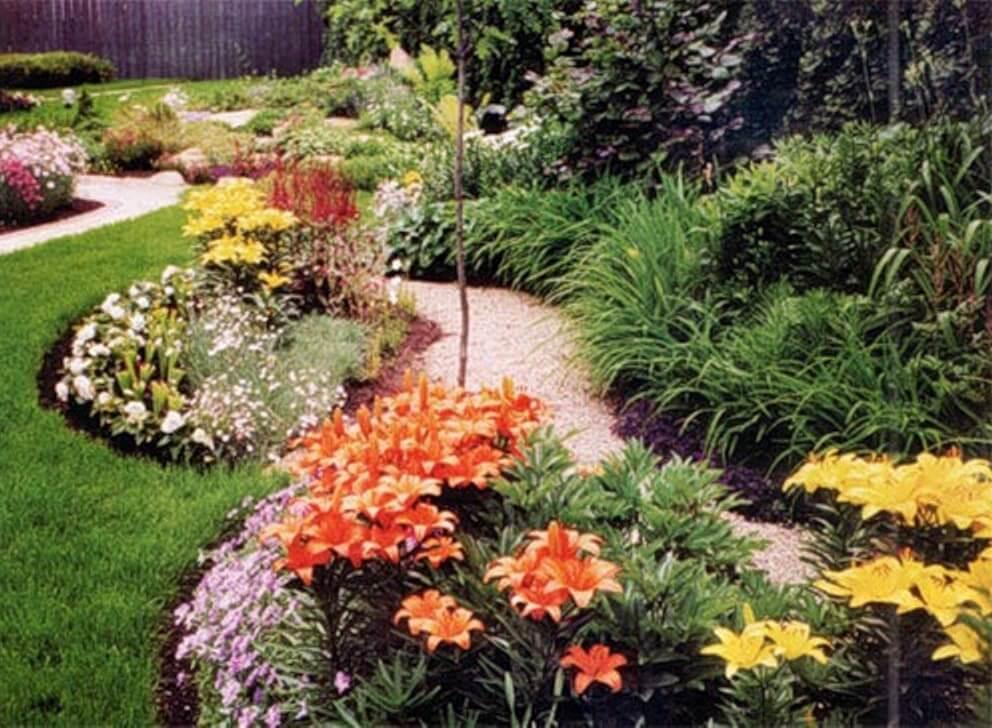 Садовые цветы в ландшафтном дизайне