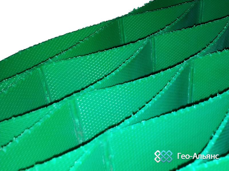 Полимерные газонные решетки объемного типа