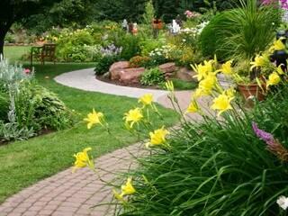 Сад своими руками дорожки 72